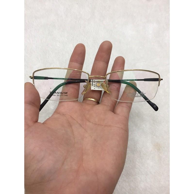 gọng kính hàng bãi chính hãng SLLIAWLLV mã S-8995
