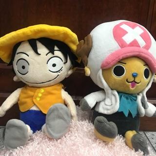 Cặp đôi Chopper và Luffy size 28-30 cm