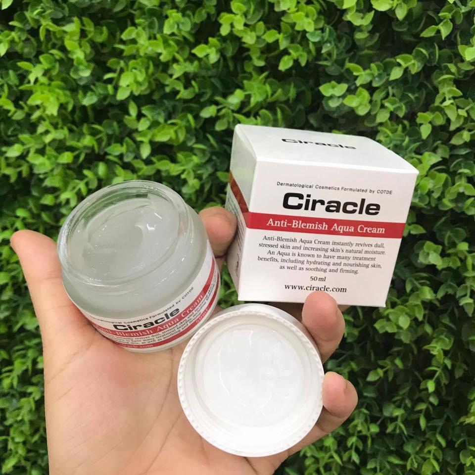 Kem Dưỡng Da Trị Mụn Ciracle Anti-Blemish Aqua Cream 50ml