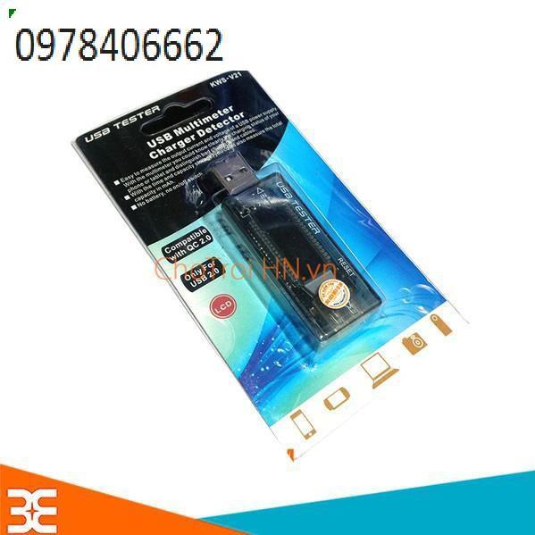 USB Đo Dòng – ĐO ÁP V3 4V-20V 3A Giá chỉ 229.000₫