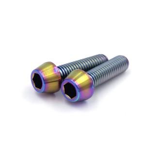 01 cặp ốc Titanium M5x20 – Ốc titan mẫu #04 (7 màu titan)