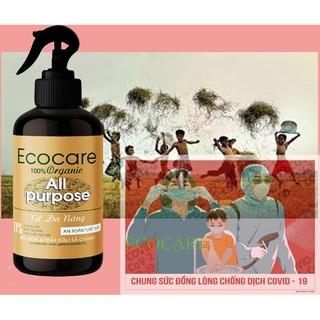 nước xịt đa năng hữu cơ ecocare 100% tinh dầu sả chanh 500ml thumbnail