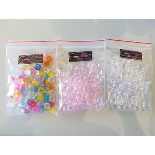Hạt Fishbowl (Trắng + Hồng + Xanh Dương + Nhiều Màu) – Nguyên Liệu Trang Trí Slime
