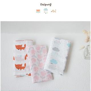 được mix màu Khăn sữa Dalpong set 10 cái nội địa Hàn Quốc thumbnail