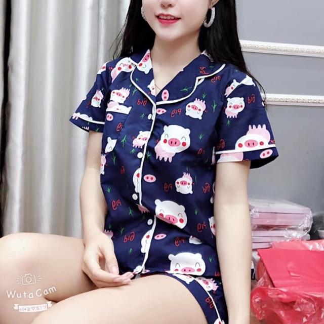 Bộ pizama cộc cute hàng đẹp - 14015322 , 2061797786 , 322_2061797786 , 79000 , Bo-pizama-coc-cute-hang-dep-322_2061797786 , shopee.vn , Bộ pizama cộc cute hàng đẹp