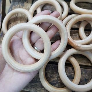Lục lạc vòng tròn gỗ