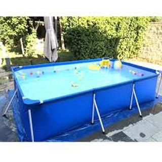 Bể Bơi Khung Kim Loại Bestway 2.21m x 1.50m x 43cm 56401