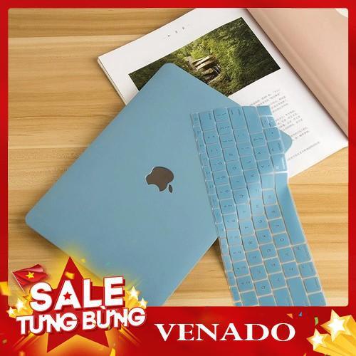 [Xả kho 3 ngày] COMBO Ốp + Phủ Phím Macbook Xanh Pastel (Tặng Nút Chống Bụi + Bộ Chống Gãy Sạc) Giá chỉ 325.000₫