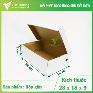 [SIÊU SANG]15 Hộp carton đựng giày size 28x18x9 hộp đẹp thumbnail