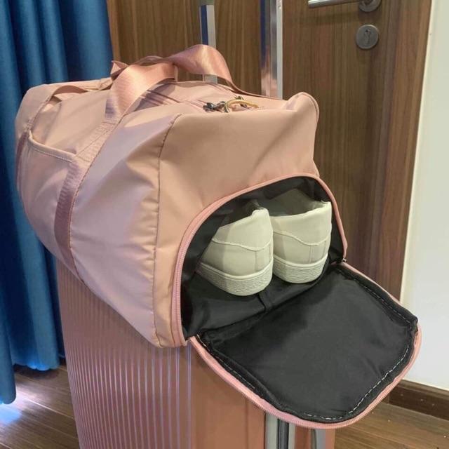 [Video + ảnh thật] - Túi du lịch cao cấp cỡ lớn, có ngăn đựng giày riêng ( hàng loại 1)