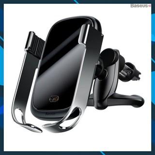 Hàng chính hãng Bộ đế giữ điện thoại tích hợp sạc nhanh không dây Baseus Rock-solid Electric Holder 10W Wireless Charger