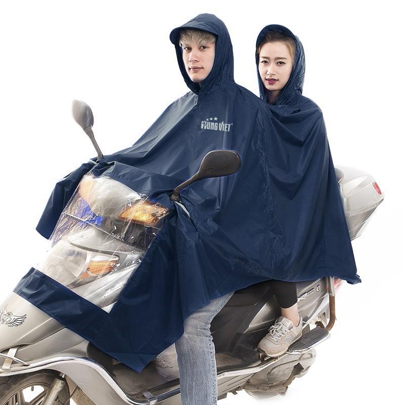 Áo mưa siêu nhẹ 2 đầu chính hãng Hưng Việt