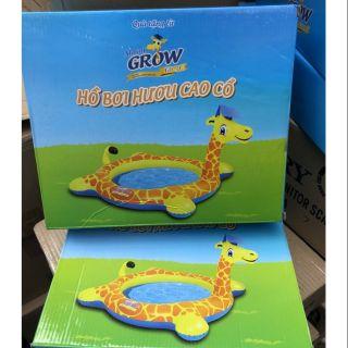 Hồ bơi hươu cao cổ – quà tặng từ Abbott Grow
