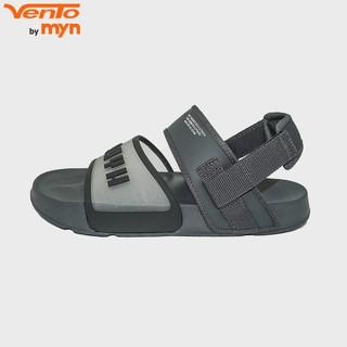 Sandal Vento quai nhựa trong suốt - FL18 F2 - Màu tro (Xám đậm)