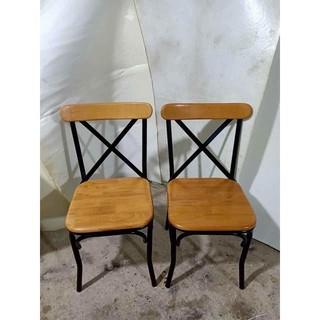 Ghế chữ X - ghế cafe - ghế gỗ tựa
