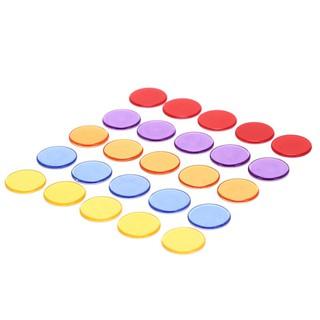 Set 20 tấm thẻ bằng nhựa dùng chơi bài poker tiện dụng HmsT10