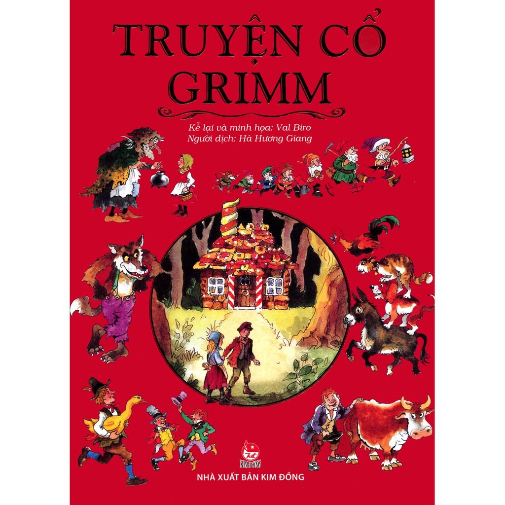 Sách - Truyện Cổ Grim (Kim Đồng)