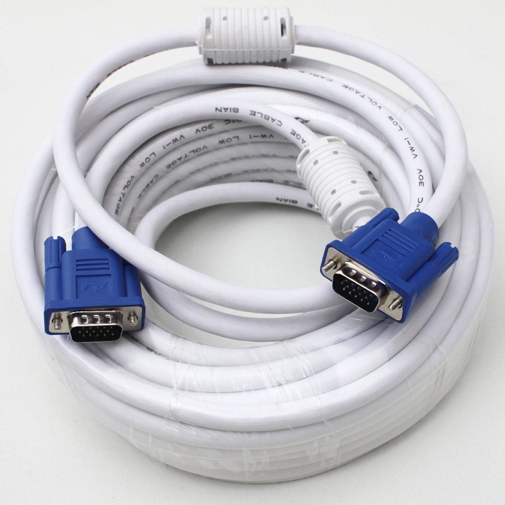 Dây VGA 2 đầu chống nhiễu 20m - Cáp VGA 2 đầu chống nhiễu 20m - Dây nối VGA 20m - Cáp nối VGA 20m