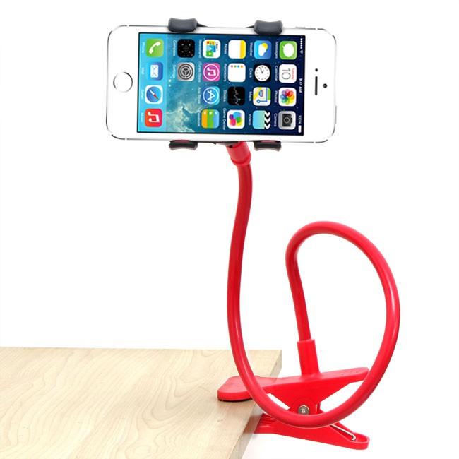 Kẹp điện thoại đuôi khỉ xoay 360 độ