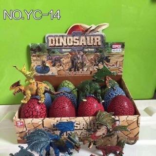Set 12 trứng khủng long có cánh