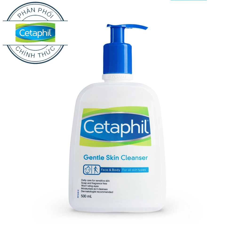 Sữa rửa mặt Cetaphil Gentle Skin Cleaner 500ml - 3554529 , 1202553521 , 322_1202553521 , 270600 , Sua-rua-mat-Cetaphil-Gentle-Skin-Cleaner-500ml-322_1202553521 , shopee.vn , Sữa rửa mặt Cetaphil Gentle Skin Cleaner 500ml