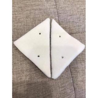 2 miếng mút thay thế loại 1 lớp (bộ lau kính 2 mặt)