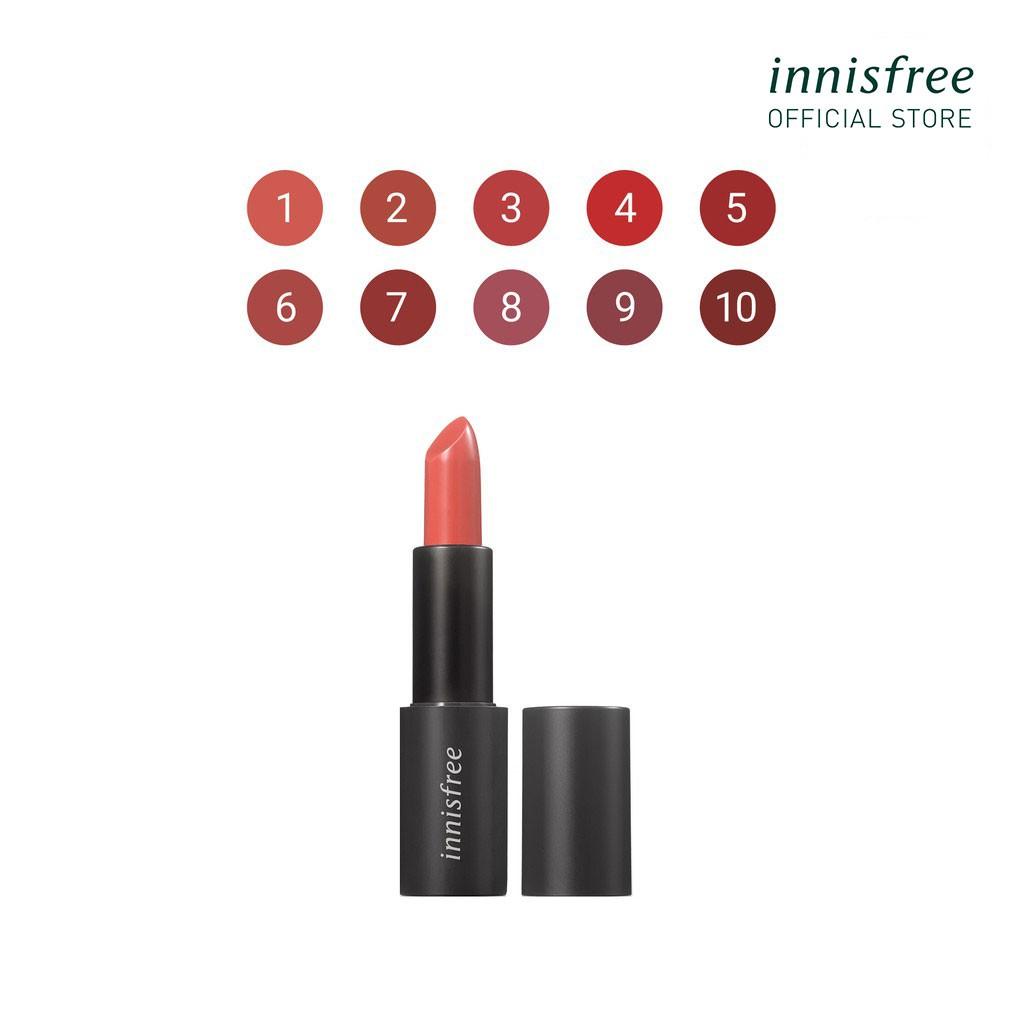 Son môi ẩm mịn innisfree Real Fit Lipstick 3.1g