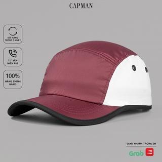 Mũ lưỡi trai chính hãng CAPMAN, phom dáng thể thao baseball CM154 vải mềm thoáng mát thumbnail