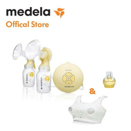 Máy hút sữa Medela Swing Maxi-Hàng phân phối chính thức...