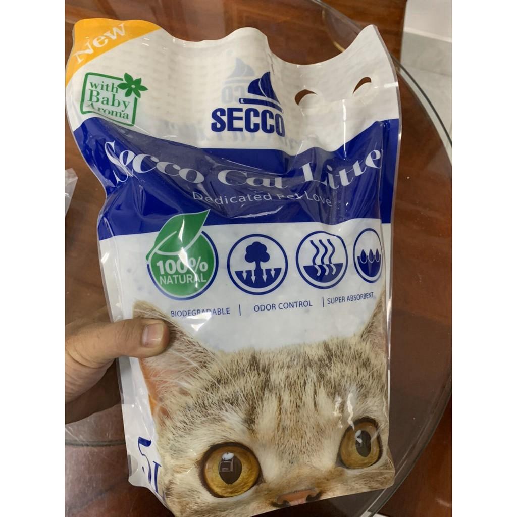 Cát Vệ Sinh Thủy Tinh Cho Mèo 5L Giá Rẻ - Tiết Kiệm