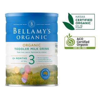 Sữa bô t Bellamys Organic Úc Số 3 lon 900gr (Date xa) thumbnail