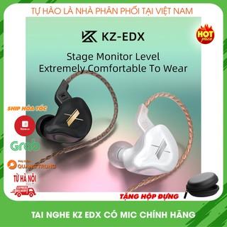 Tai nghe kz EDX có mic đàm thoại, phân phối chính hãng, cách âm cực tốt ( tặng hộp đựng ) thumbnail