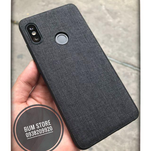 Ốp vải xiaomi Redmi Note 5 - kèm dán camera