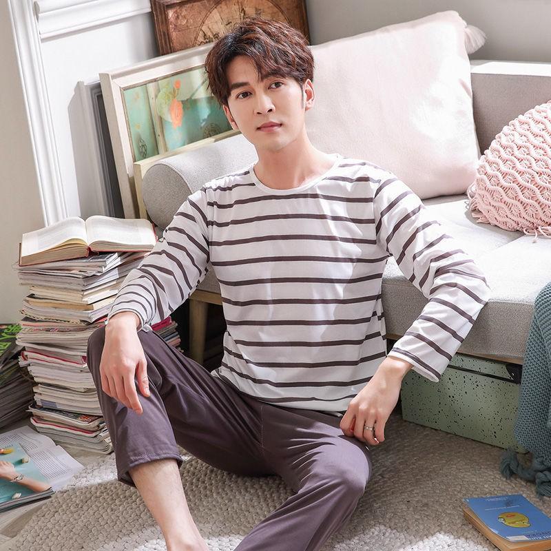 Mặc gì đẹp: Ngủ ngon với Đồ Ngủ Pijama Dài Tay Thời Trang Nam Dễ Thương