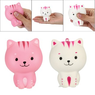 Colours Tiger Scented Squishies Slow Rising Squeeze Toys Stress Reliever Toy bỏ sỉ squishy