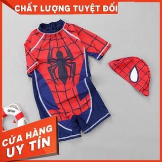 Đồ bơi bé trai [ ẢNH THẬT ] Đồ bơi siêu nhân người nhện