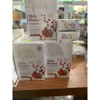 skin beauty vitamin e đỏ