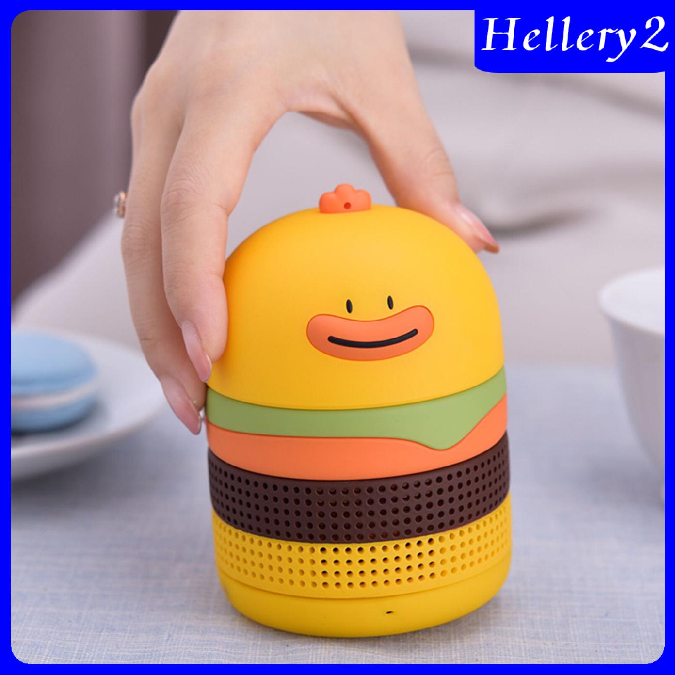 Loa Bluetooth Hình Bánh Hamburger Vịt Đáng Yêu 2 Màu Cho Trẻ Em