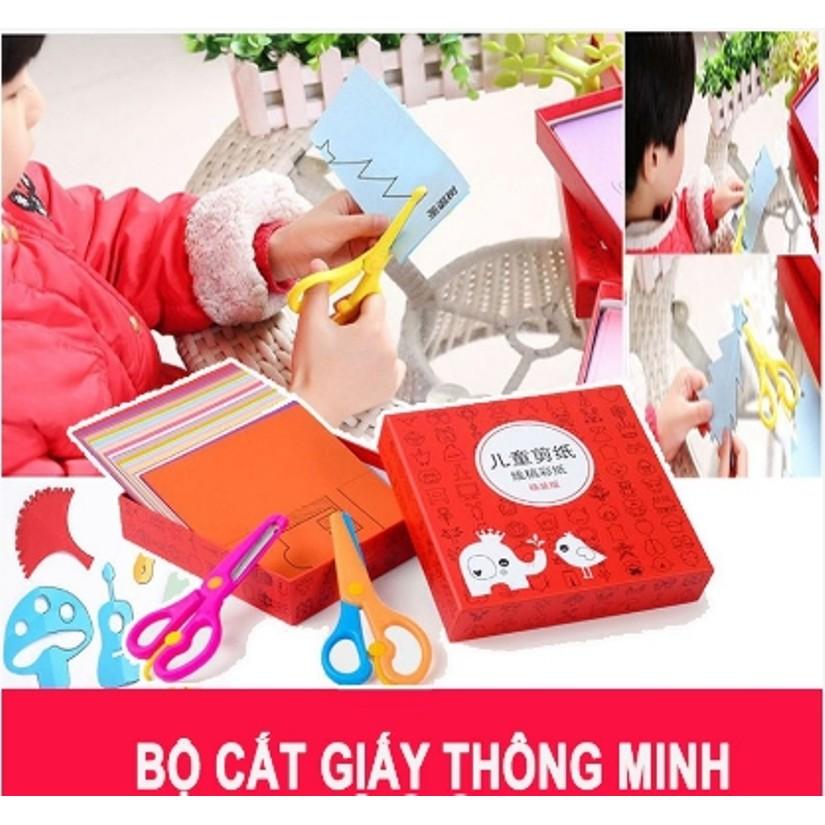 Bộ đồ chơi cắt giấy tạo hình cho bé tặng kèm 2 kéo cắt hàng loại 1 - 3448890 , 1259888811 , 322_1259888811 , 70000 , Bo-do-choi-cat-giay-tao-hinh-cho-be-tang-kem-2-keo-cat-hang-loai-1-322_1259888811 , shopee.vn , Bộ đồ chơi cắt giấy tạo hình cho bé tặng kèm 2 kéo cắt hàng loại 1