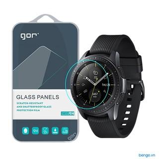 [Mã ELFLASH5 giảm 20K đơn 50K] Dán màn hình Samsung Galaxy Watch cường lực GOR (Hộp 2 miếng)