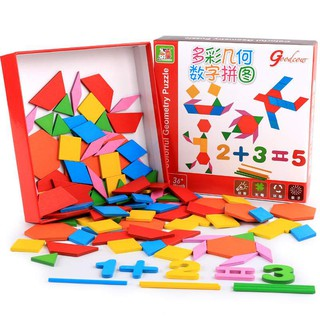 Ghép hình que tính học toán đa năng