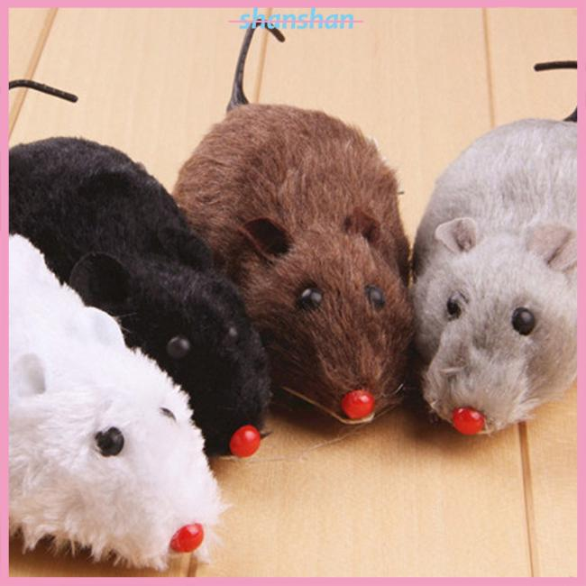 Mouse Pet Cat Toys Interactive Mini Funny Mice & Animal Playing Toys for Cats Wind-up Mouse Rat Moving Toy