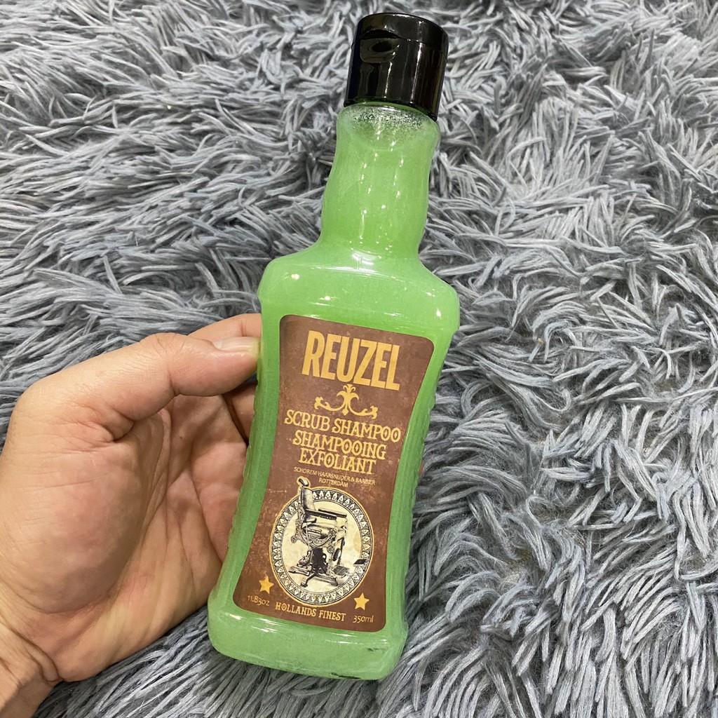 Dầu gội tẩy da chết làm sạch sâu khử dầu Scrub Shampoo Reuzel 350ml