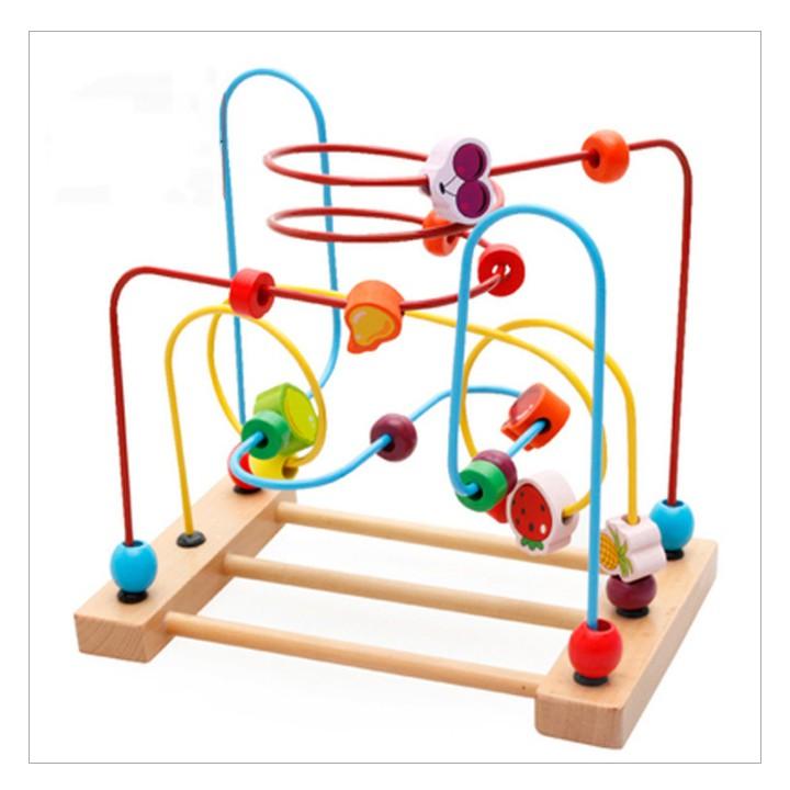 Đồ chơi sâu chuỗi gỗ thông minh cho bé - 3154030 , 382682510 , 322_382682510 , 235000 , Do-choi-sau-chuoi-go-thong-minh-cho-be-322_382682510 , shopee.vn , Đồ chơi sâu chuỗi gỗ thông minh cho bé