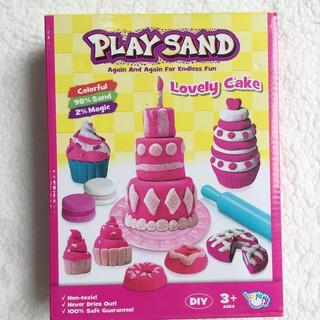 ĐỒ CHƠI CÁT ĐỘNG LỰC PLAY SAND – LOVELY CAKE ( kèm ảnh thật )!!!