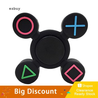 【Ready Stock】Geometric Fidget Silicone Hand Spinner Finger Toy EDC Focus Fingertip Gyro Gift