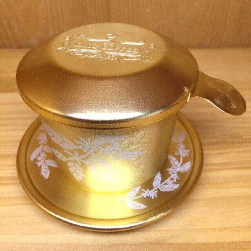 (TRỢ GIÁ HÀNG LOẠI 1) (Hot Deal) Phin cà phê nhôm cá nhân king coffee  - dày chắc từ nhôm nguyên chất - kích thước chuẩn