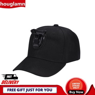 Houglamn duoqiao 【Promotion】 PULUZ Baseball Hat with J-hook Buckle Mount & Screw for Gopro Action Cameras