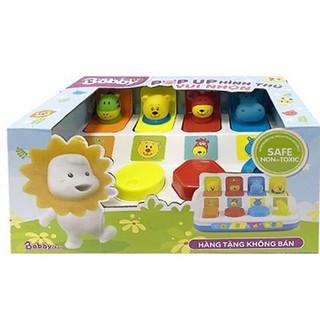 Hộp đồ chơi Pop – up animal (quà tặng Bobby)