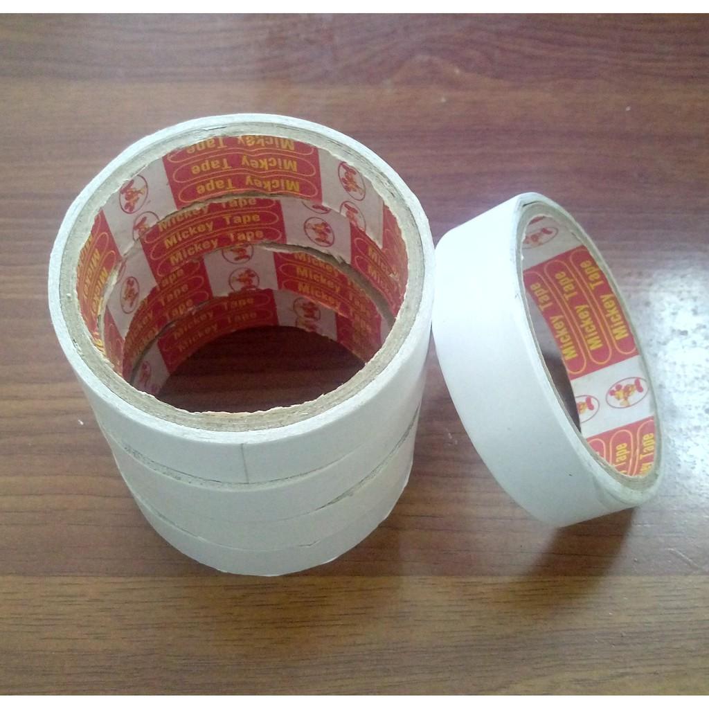 Combo 5 cuộn Băng dính 2 mặt bản 2.5cm - 2932907 , 1080648300 , 322_1080648300 , 25000 , Combo-5-cuon-Bang-dinh-2-mat-ban-2.5cm-322_1080648300 , shopee.vn , Combo 5 cuộn Băng dính 2 mặt bản 2.5cm